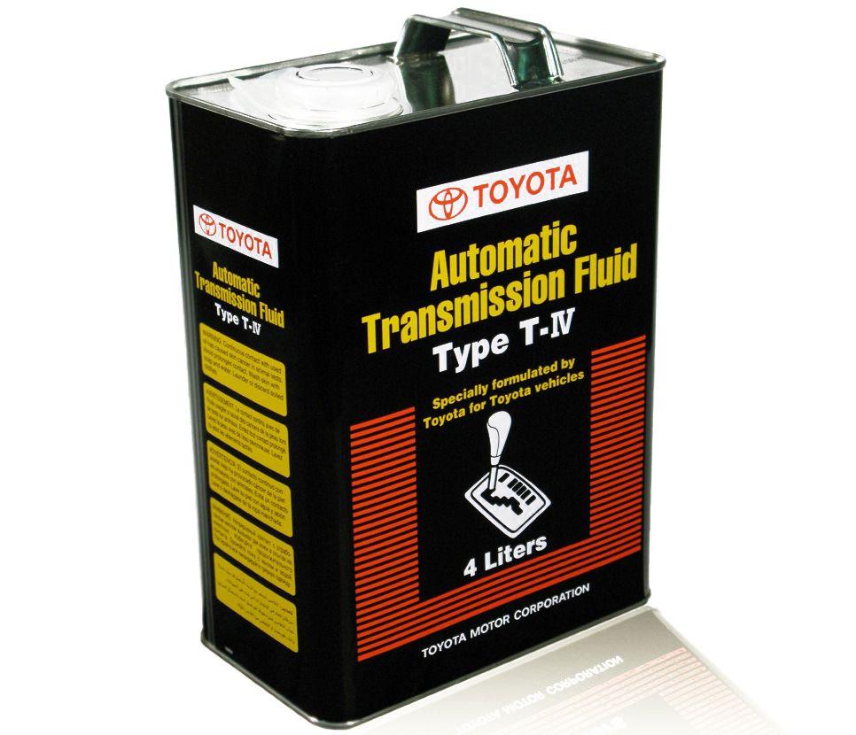 Масло TOYOTA AUTO Fluid TYPE T-IV (черная) (4л) от Ravta