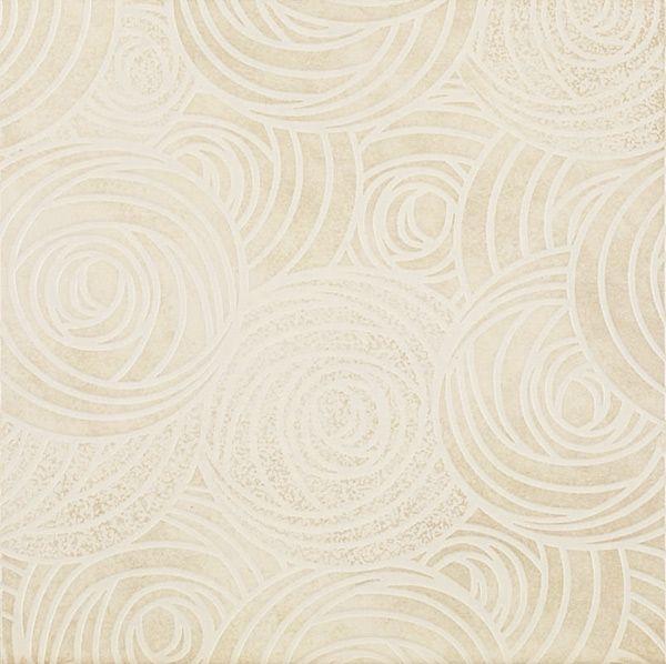 Керамогранит напольный декор Coliseum Gres Пьемонте Камелия белый 300*300 (шт) от Ravta