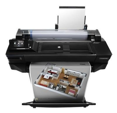 Плоттер HP DesignJet T520 24in e-Printer (CQ890A) от Ravta