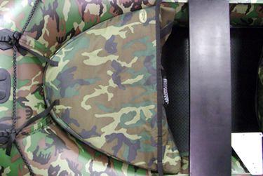 badger Носовая сумка (86*65*28 см), Camo bow_bag_camo