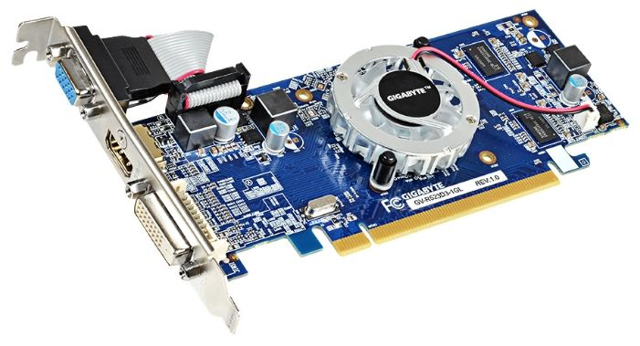 Видеокарта GIGABYTE Radeon R5 230 GV-R523D3-1GL V2.0 1Гб VGA PCIE16 GDDR3 от Ravta