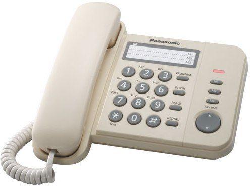 Телефон PANASONIC KX-TS2352RUJ Телефон проводной от Ravta