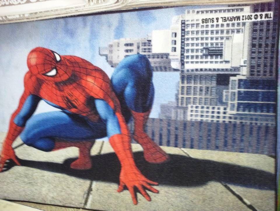 Ковер детский Dinarsu Disney Человек Паук (арт.D3SM004) серый 800*1330мм от Ravta