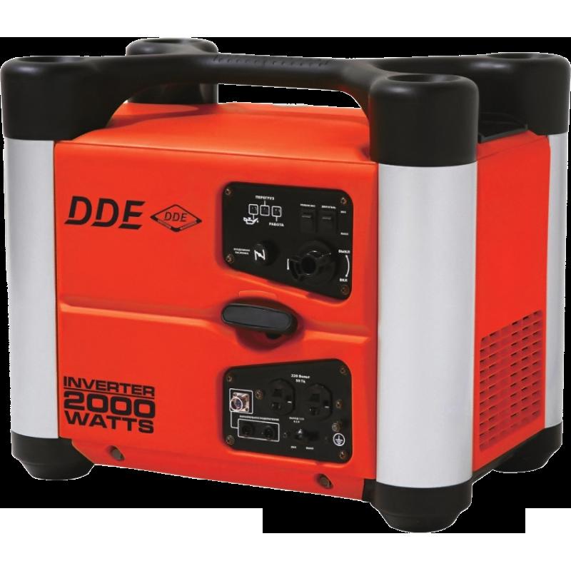 Электростанция бенз. DDE DPG2051Si, 1.6/2кВт т/бак3.8л. ручн/ст. 22кг инверторно-цифровая DPG2051Si от Ravta