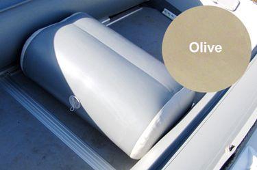 Сиденье надувное с перегородкой (76х45х32 см), Olive от Ravta