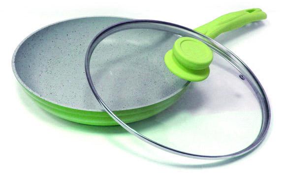 Сковорода антипригарная Welen Lime 24см (арт.242424424) от Ravta