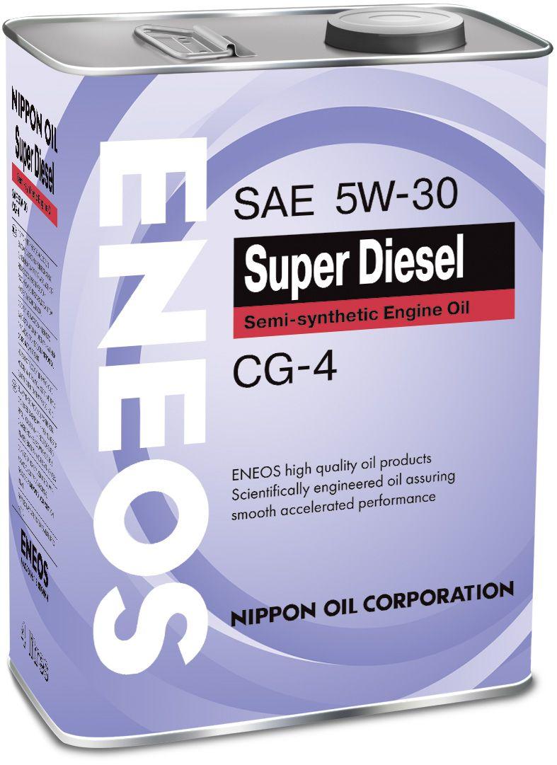 Масло ENEOS CG-4 полусинтетика 5/30 (4л) от Ravta