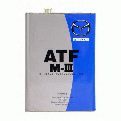 Масло MAZDA ATF M-3 (4л) от Ravta