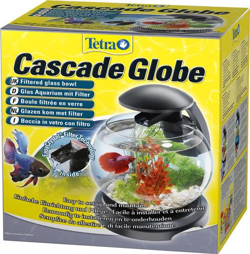 tetra АквариумTetra Caskade Globe ЧЕРНЫЙ 6.8l - Круглый аквариум (Диаметр 27.9) 211827 211827