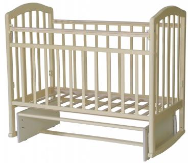 Кроватка Антел Алита-3 маятник поперечный/качалка (слоновая кость)Детские кроватки, манежи и аксессуары<br><br><br>Артикул: 169 795<br>Бренд: Антел