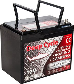 Аккумулятор Marine Deep Cycle AGM 75Ah 12V (6FM75TD-X) от Ravta