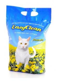 Easy Clean (Канада) Комкующийся наполнитель без запаха (Unscented) 18кг от Ravta