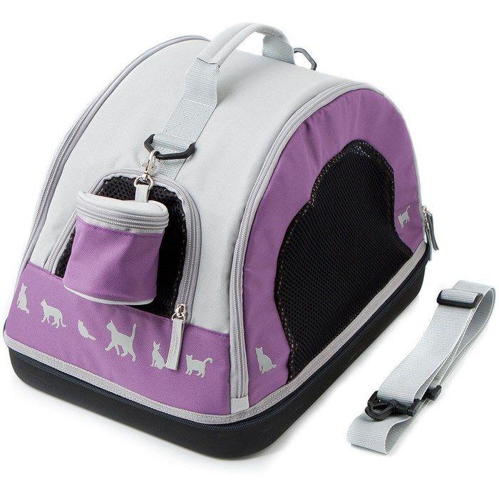 comfy Переноска COMFYBELLA TRIO (44х30х30 см) фиолетовая 238243