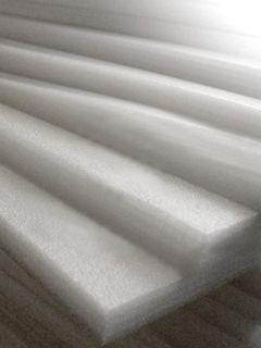 Пенополиэтилен несшитый 50мм, 1м*2м белый от Ravta