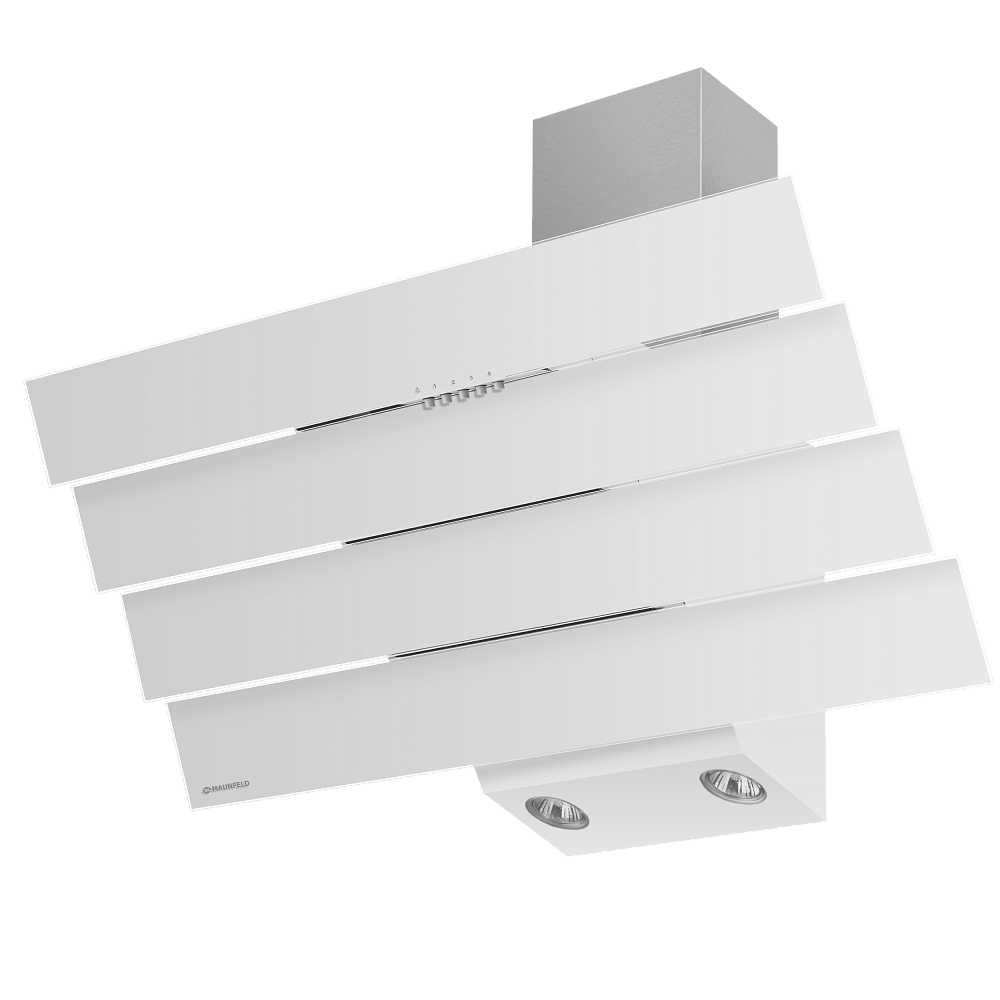 Вытяжка Maunfeld CASCADA QUART 90 (белый, белое стекло)Наклонные вытяжки<br>Оригинальный угольный фильтр в подарок!<br><br>Артикул: УТ000000935<br>Бренд: Maunfeld<br>Потребляемая мощность (Вт): 180<br>Гарантия производителя: да<br>Страна-изготовитель: Польша<br>Вес упаковки (кг): 13<br>Цвет: белый<br>Тип управления: механическое<br>Материал корпуса: металл/стекло<br>Глубина(см): 42<br>Ширина (см): 90<br>Производительность(м3/час): 620<br>Высота (см): 71<br>Максимальная высота, декоративный короб (см): 88<br>Тип купольной вытяжки: пристенная<br>Наклонная вытяжка: да<br>Элементы управления: кнопочное