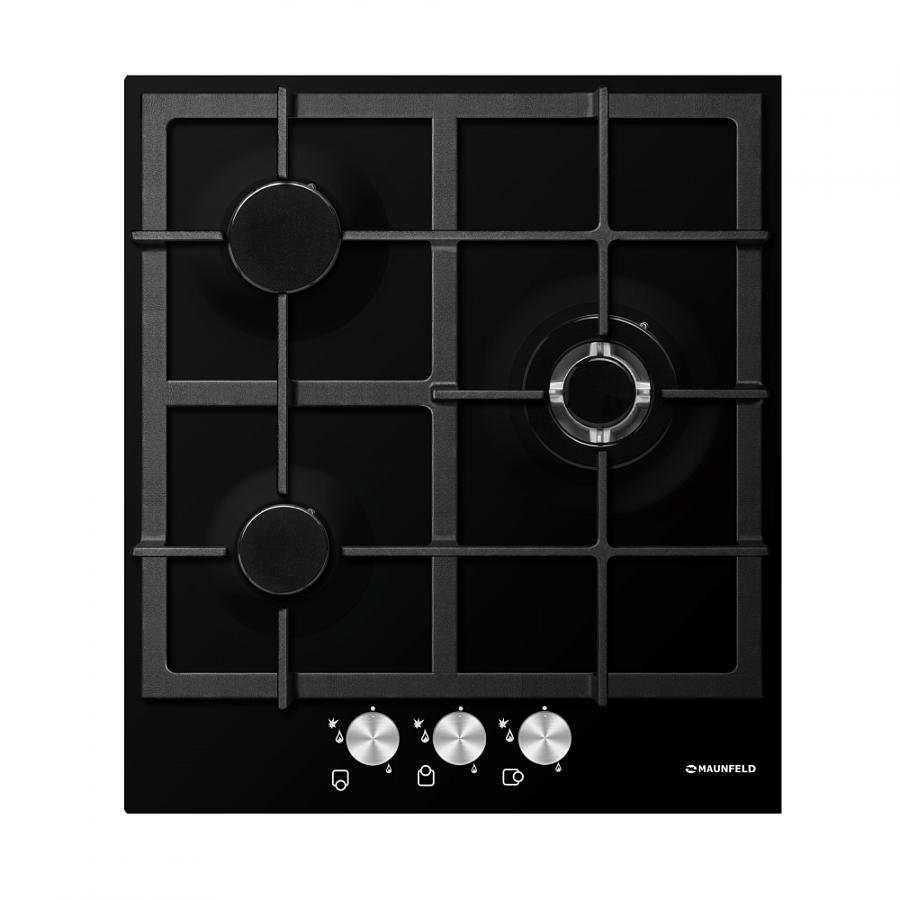 Газовая варочная панель Maunfeld MGHE 43 71RB (черная эмаль)Встраиваемые газовые варочные панели<br><br><br>Артикул: УТ000001678<br>Бренд: Maunfeld<br>Гарантия производителя: да<br>Вес упаковки (кг): 7