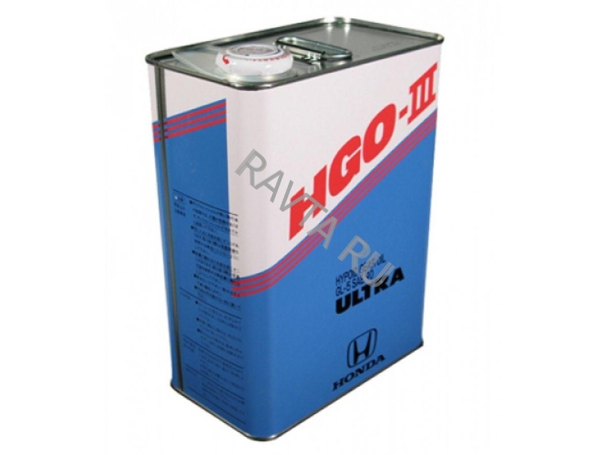 Масло Honda HGO-III (4л)Honda<br><br><br>Артикул: 08291-99914<br>Тип масла: Трансмиссионное<br>Бренд: Honda<br>Объем (л): 4<br>Применение масла: трансмисси и ведущие мосты<br>Объем (л): 4