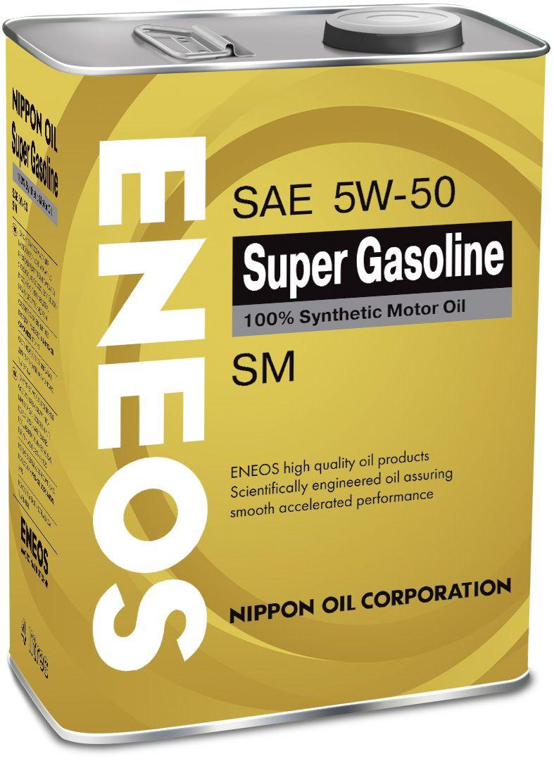 Масло ENEOS Super Gasoline 100% Synt. SM 5/50 (4л) от Ravta