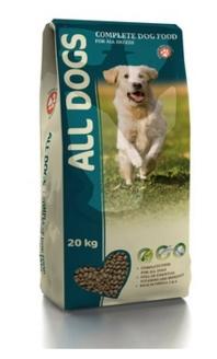 All Dogs Полнорационный корм для взрослых собак (ALL DOGS) 20кгПовседневные корма<br><br><br>Артикул: 17731<br>Бренд: All Dogs<br>Вид: Сухие<br>Вес брутто (кг): 20<br>Для кого: Собаки