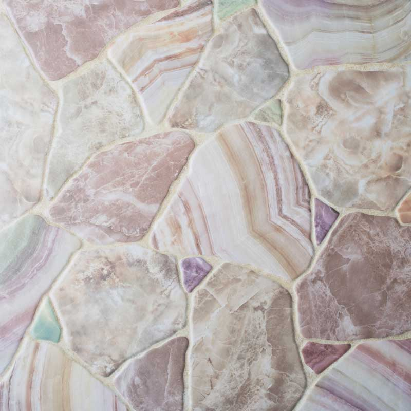 Керамогранит напольный Шахтинская плитка Gaudi 01 белый 450*450 (шт.) от Ravta