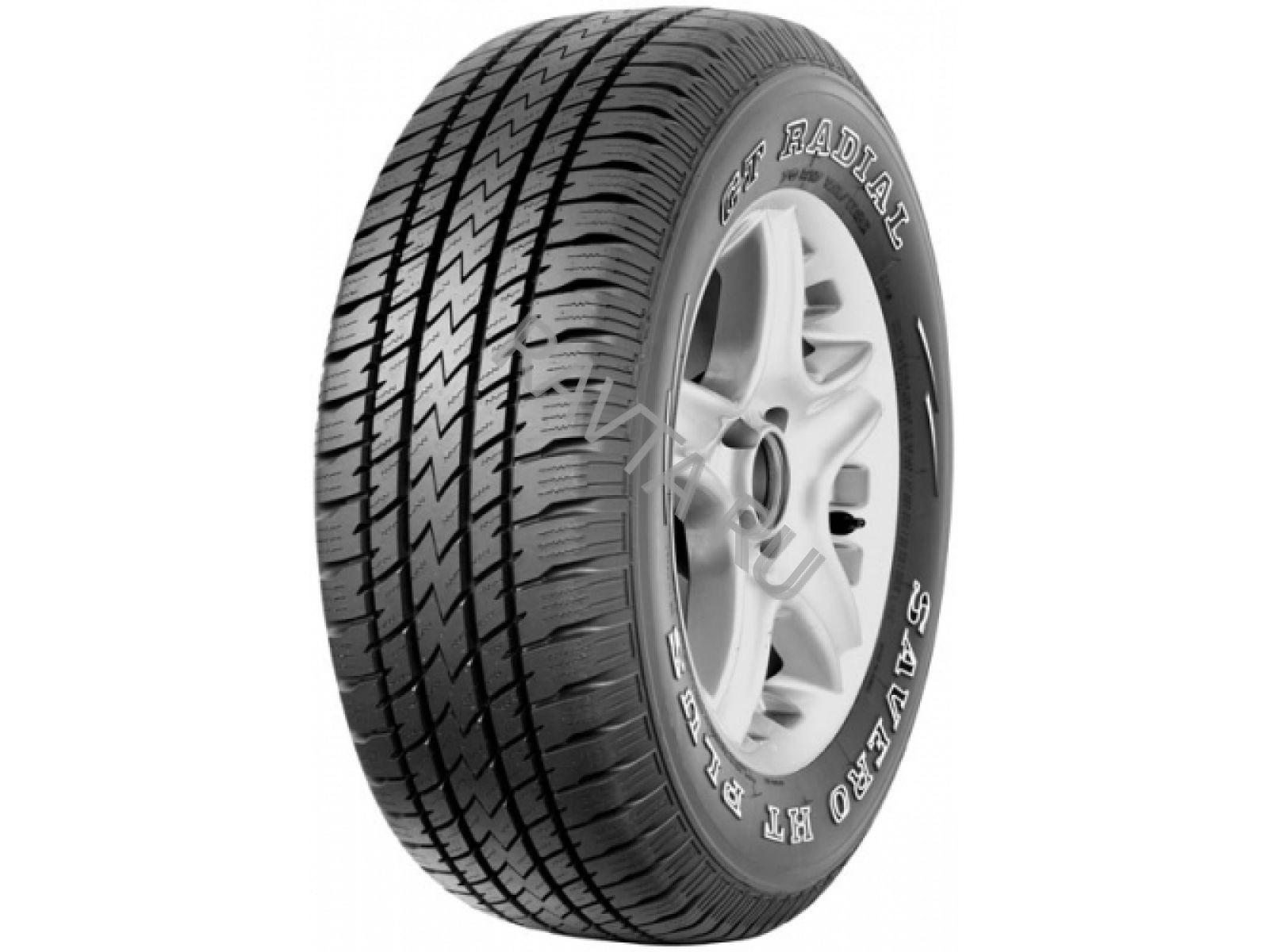 Шина Gt radial savero ht plus 265/75 r16 119/116rЛегковые шины<br><br><br>Сезонность шины: летняя<br>Индекс максимальной скорости: R (170 км/ч)<br>Бренд: GT Radial<br>Высота профиля шины: 75<br>Ширина профиля шины: 265<br>Диаметр: 16<br>Индекс нагрузки: 119<br>Тип автомобиля: внедорожник<br>Страна-изготовитель: Индонезия<br>Родина бренда: Индонезия
