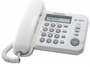 Телефон PANASONIC KX-TS 2356RUW от Ravta