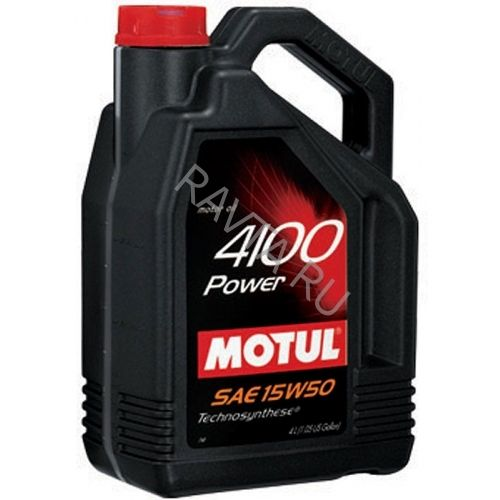 Масло MOTUL 4100 Power 15W-50 SL/CF (4л) от Ravta