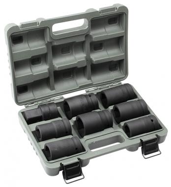 """Набор Дело Техники головок 1"""" для ручного гайковерта 8 предм. (22-4гр, 27, 30, 32, 33, 38, 41 мм, удлинитель 80мм от Ravta"""