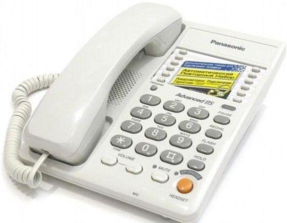 Телефон Panasonic KX-TS2363RUW (белый) от Ravta