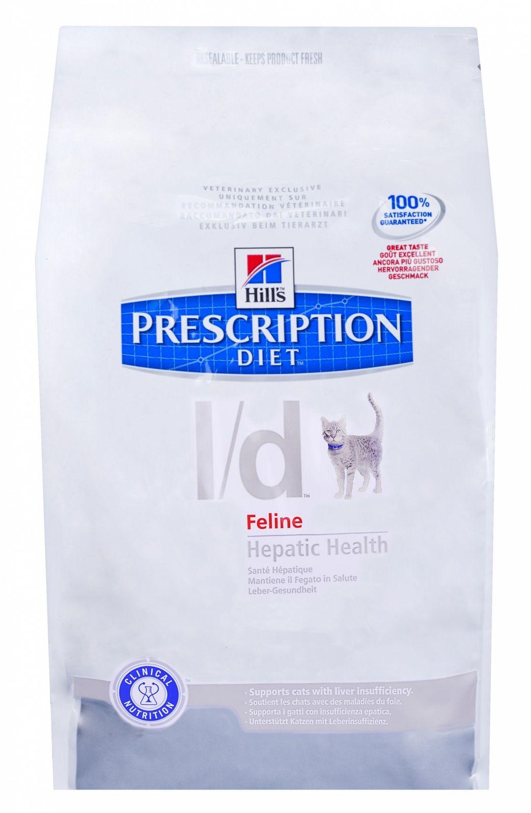 Диетический корм Hill's L/D для кошек лечение заболеваний печени, 1,5кг от Ravta