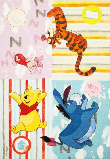 Ковер детский Dinarsu Disney Винни Пух и Друзья (арт.D3WP001 Микс) 1330*1950мм от Ravta