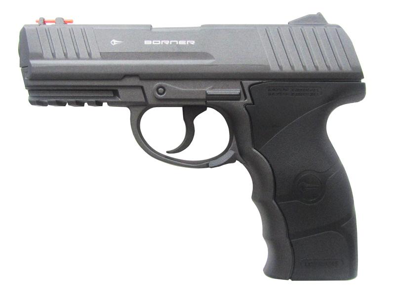 Пистолет пневм. Borner W3000M, кал. 4,5 мм от Ravta