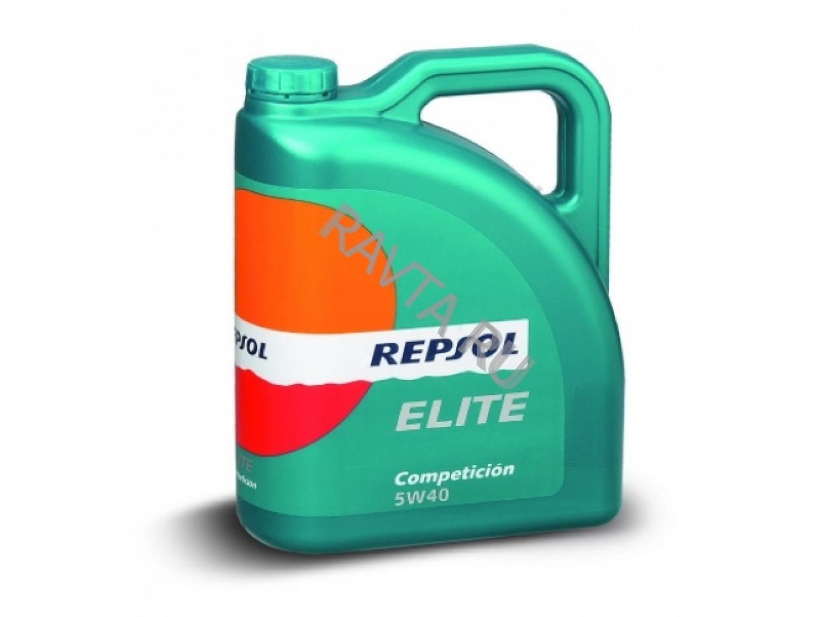 Масло Repsol Elite Competicion 5W-40 (4л) от Ravta