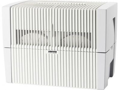 Очиститель-увлажнитель Venta LW45 WhiteМойки, увлажнители воздуха<br><br><br>Бренд: Venta<br>Вид: мойка воздуха<br>Управление: электронное<br>Источник питания: сеть<br>Гарантия производителя: да<br>Обслуживаемая площадь (кв.м): 75<br>Max. воздухообмен (куб.м/ч): 270<br>Общий объем (л): 10