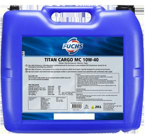 Масло FUCHS TITAN CARGO MC 10W 40 (20л) от Ravta