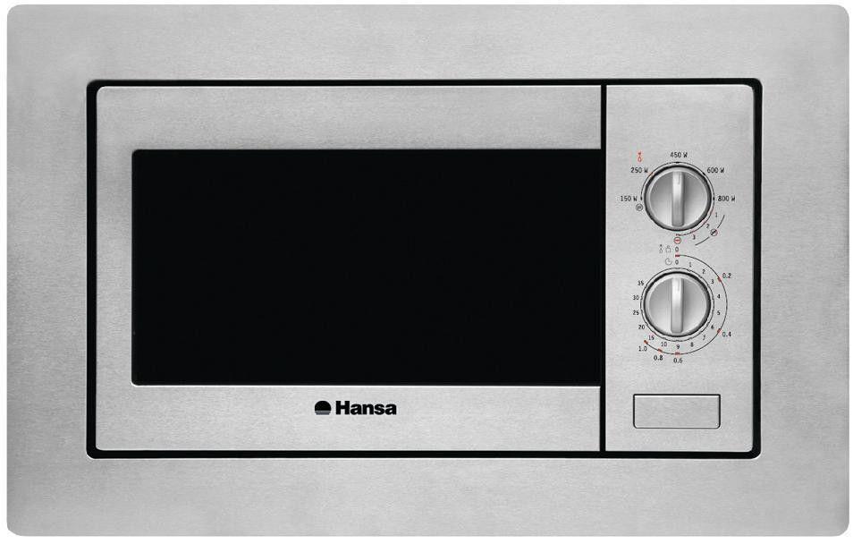 Встраиваемая микроволновая печь HANSA AMM 20 BIMH от Ravta