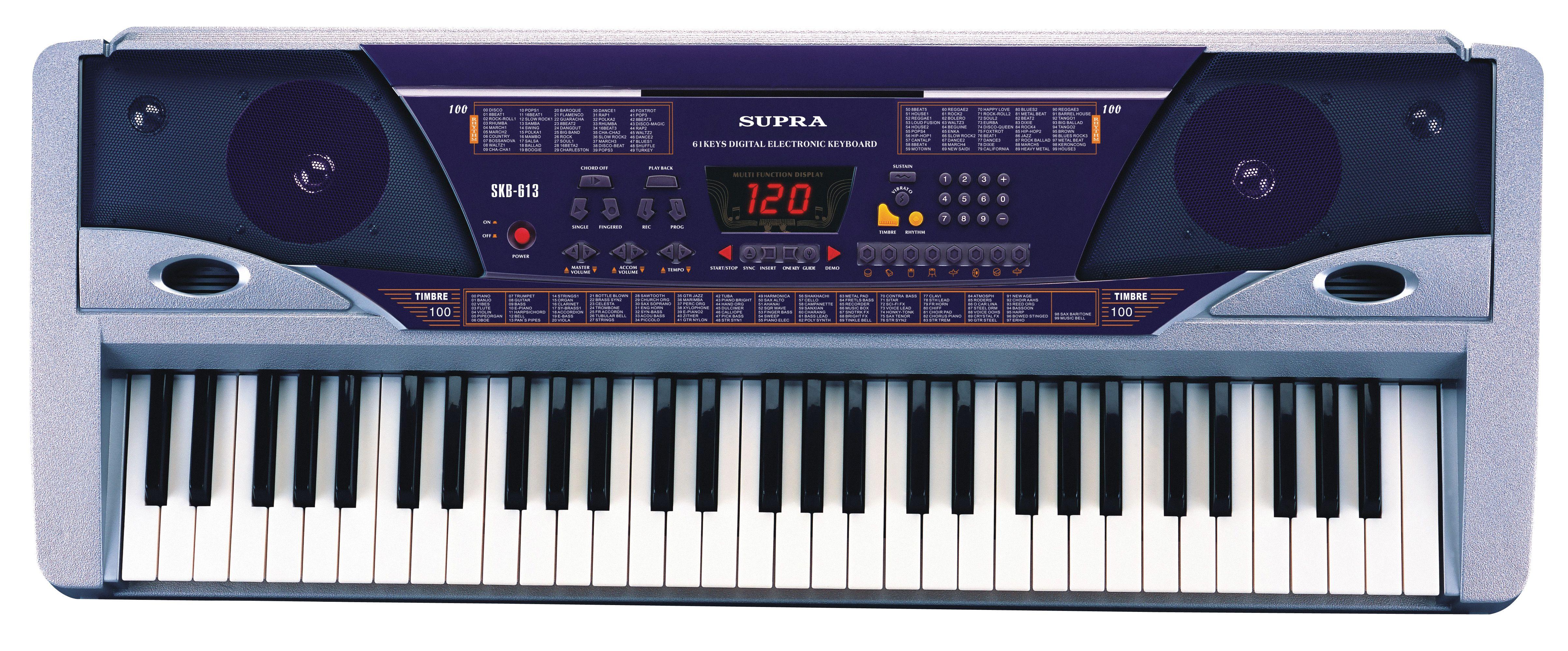 электронное пианино супра skb-613 инструкция по применению