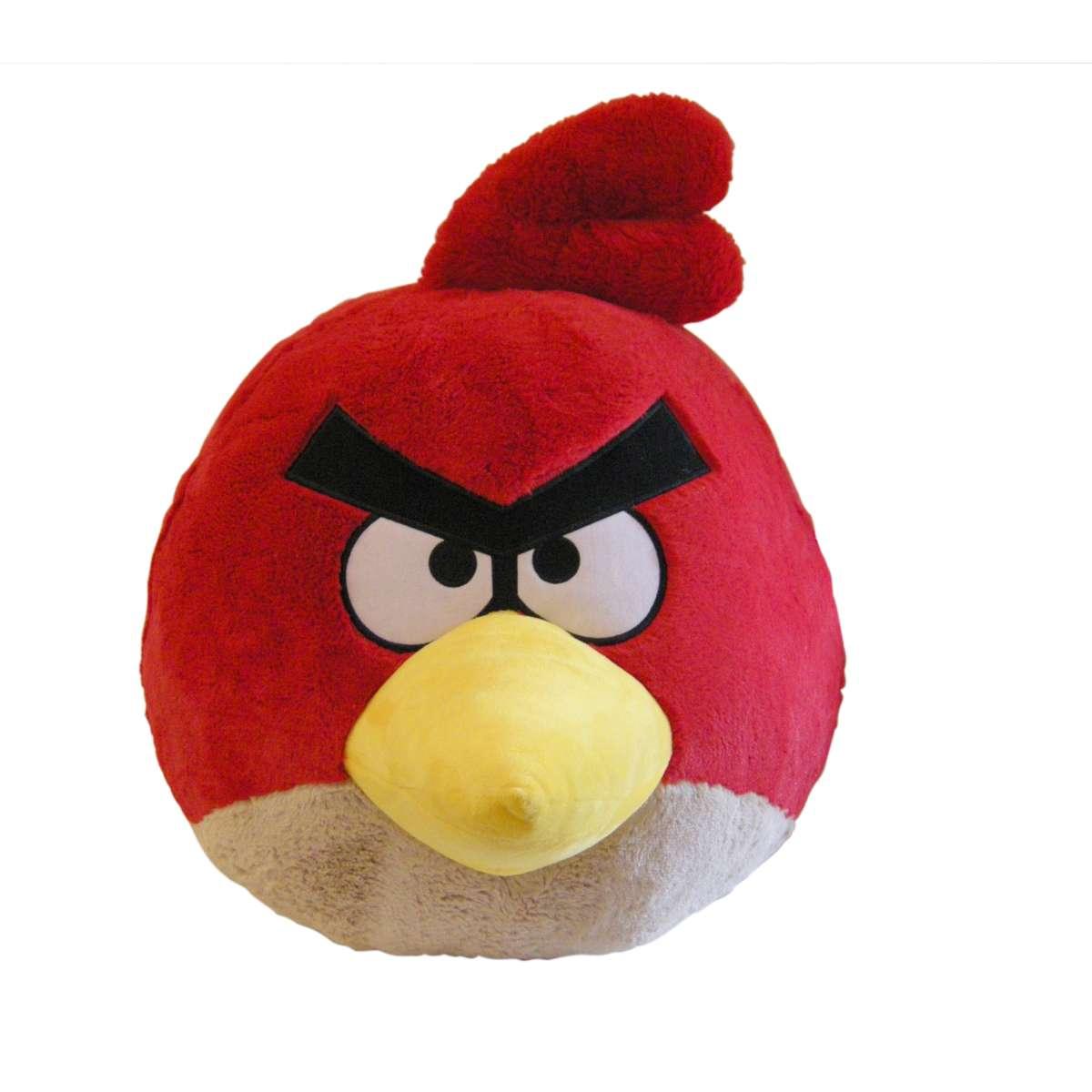 Angry Birds мягкая игрушка 40см, со звуком, красная птица (арт. 91205)Мягкие игрушки<br><br><br>Артикул: 91205<br>Бренд: 1 TOY<br>Категории: Angry Birds