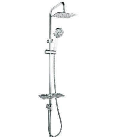Душевой гарнитур без смесителя c верхней душевой лейкой Тропический дождь Lemark (арт.LM8803C) от Ravta
