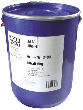 3400 LiquiMoly Высокотемп.смазка д/ступиц подшипн. LM 50 Litho HT (5кг) от Ravta