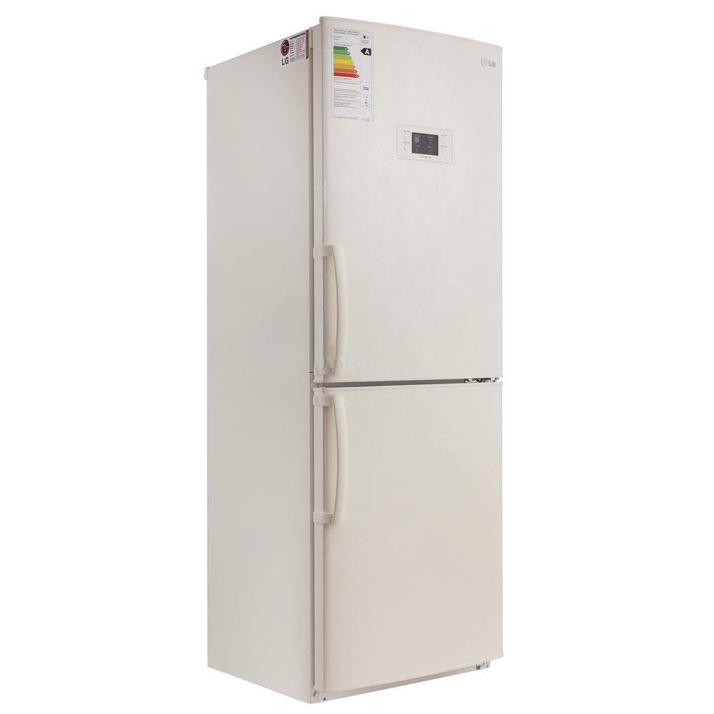 Холодильник LG GA-B 379 UEQA (бежевый)Холодильники<br><br><br>Артикул: GA-B379UEQA<br>Размеры (ШxГxВ): 60 x 65 x 173<br>Бренд: LG<br>Вес (кг): 69<br>Материал полок: стекло<br>Наличие морозильной камеры: да<br>Гарантия производителя: да<br>Общий объем (л): 264<br>Цвет: бежевый<br>Тип управления: электронное<br>Высота холодильника (см): 173<br>Объем морозильной камеры (л): 86<br>Объем холодильной камеры (л): 178<br>Размораживание морозильной камеры: no frost<br>Размораживание холодильной камеры: no frost<br>Тип холодильника: двухкамерный<br>Материал покрытия холодильника: пластик/металл<br>Количество компрессоров: 1<br>Возможность перевешивания дверей: да<br>Антибактериальное покрытие: нет<br>Класс энергопотребления: A<br>Расположение морозильной камеры: снизу<br>Тип установки холодильника: отдельно стоящий