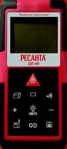 Дальномер лазерный РЕСАНТА ДЛ-60 от Ravta