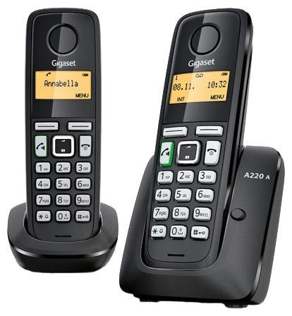 Телефон DECT Gigaset A220 DUO RUS от Ravta