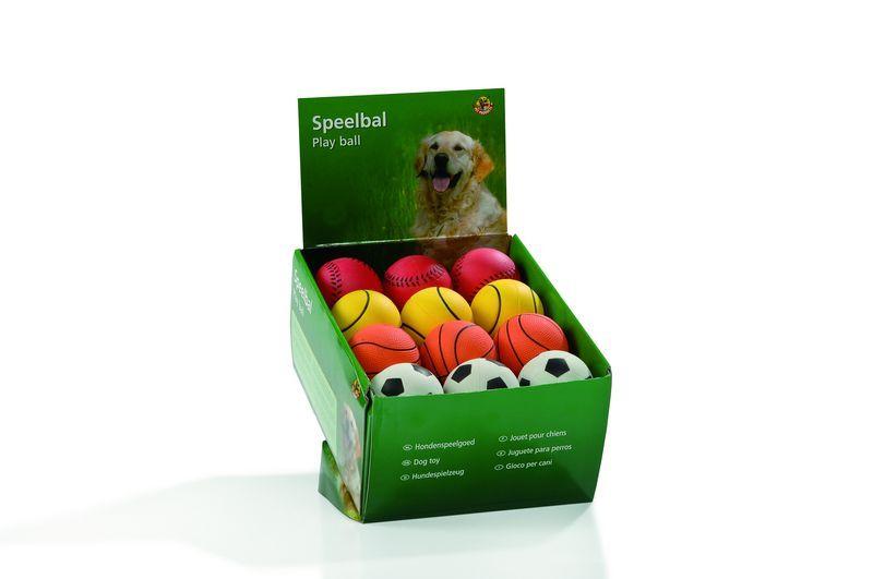 """Игрушки для собак """"Мяч"""", мягкая резина 6,3см (шт) от Ravta"""