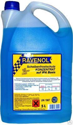 Жидкость стеклоомывателя Ravenol Обзор ЦИТРУС -36С IPA (5л) от Ravta