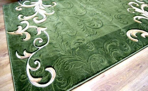 Ковер Манго (арт.3683 green-beige) 2000*3000мм овал от Ravta