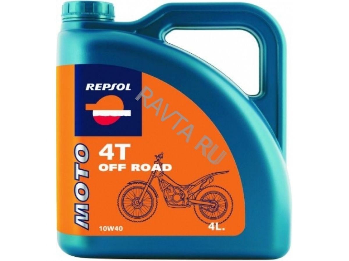 Масло Repsol Moto Off Road 4T 10W-40 (4л) от Ravta