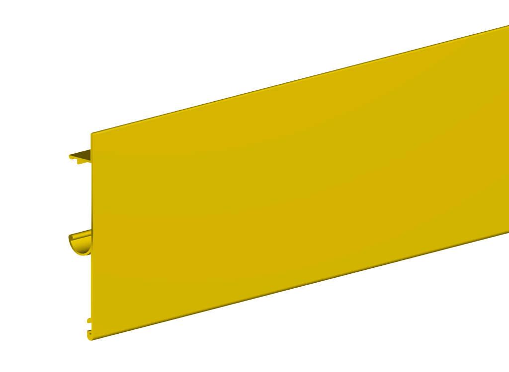 Планка маскировочная для направляющей Herkules длиной 2000 мм, цвет золотоСистемы для раздвижных и складывающихся дверей<br><br><br>Артикул: 2201043<br>Бренд: Valcomp<br>Страна-изготовитель: Польша