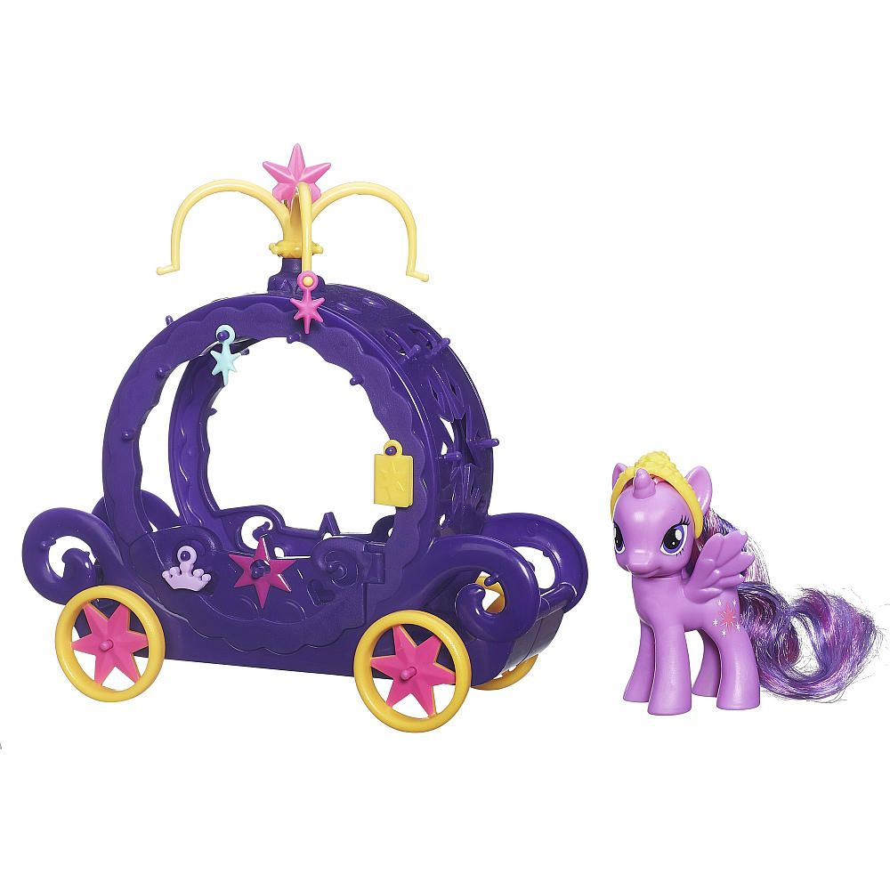 Набор Игровой Карета Для Твайлайт Спаркл My Little Pony, Hasbro B0359Игровые наборы для девочек<br><br><br>Артикул: B0359<br>Бренд: My Little Pony<br>Категории: My Little Pony