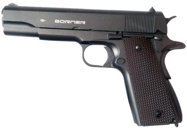Пистолет пневм. Borner KMB76, кал. 4,5 мм от Ravta